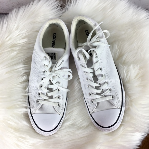 ef93e820b0ba Converse Other - Converse All Star White Leather Shoes M10.5 W12.5
